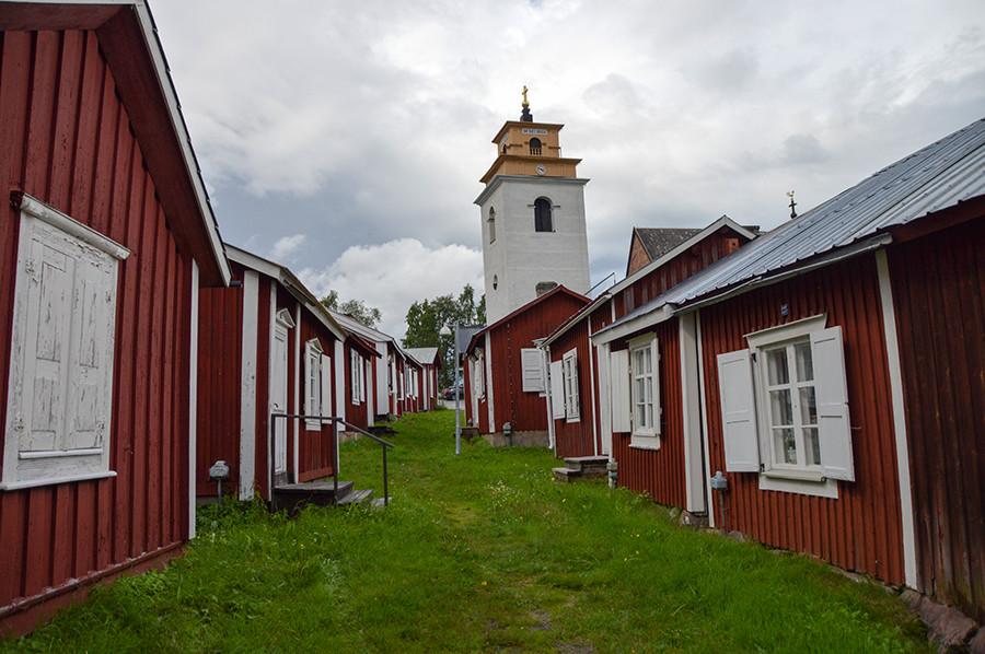 Gammelstad in Luleå - sommarmorgon.com