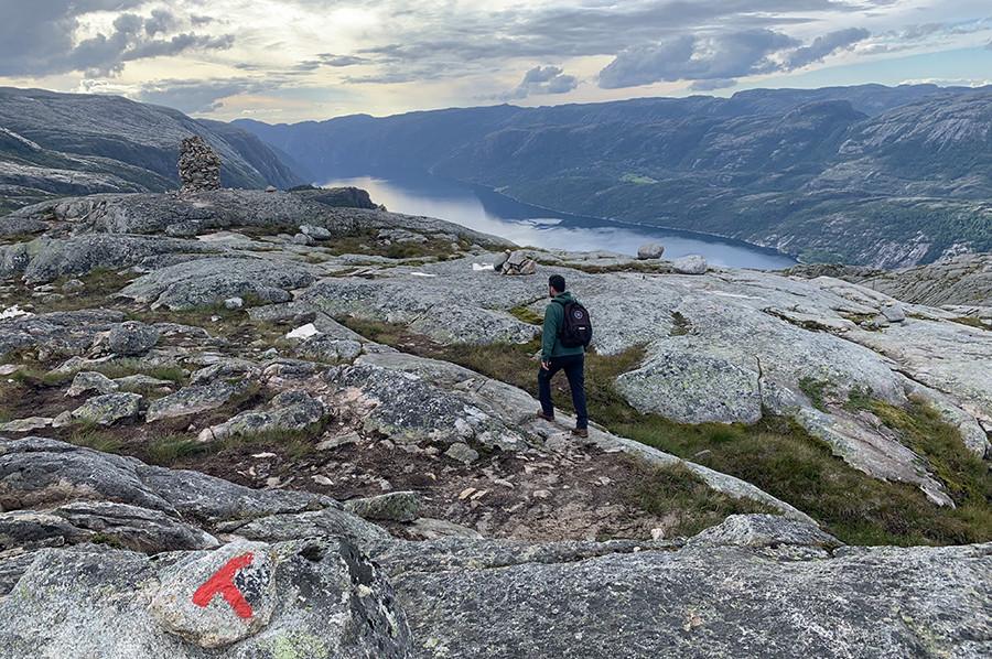 Het prachtige landschap rondom Flørli en het Lysefjord - sommarmorgon.com