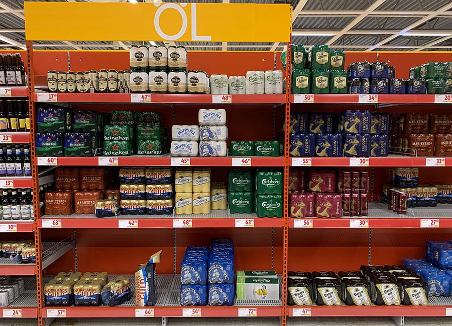 Bier uit de Zweedse supermarkt - sommarmorgon.com