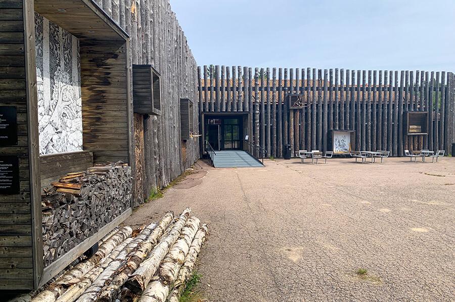 Finnskogscentrum- museum in Torsby - sommarmorgon.com