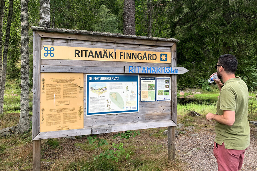 Het bezoeken van de Ritamäki Finngårdar boerderij - sommarmorgon.com