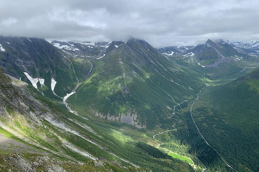 Uitzicht vanaf Saksa - sommarmorgon.com