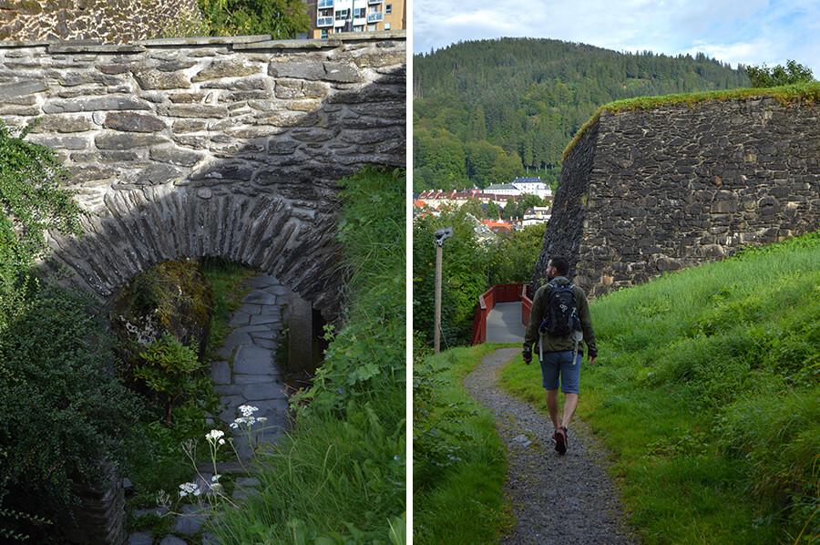 Bergenhus Festning Noorwegen - sommarmorgon.com