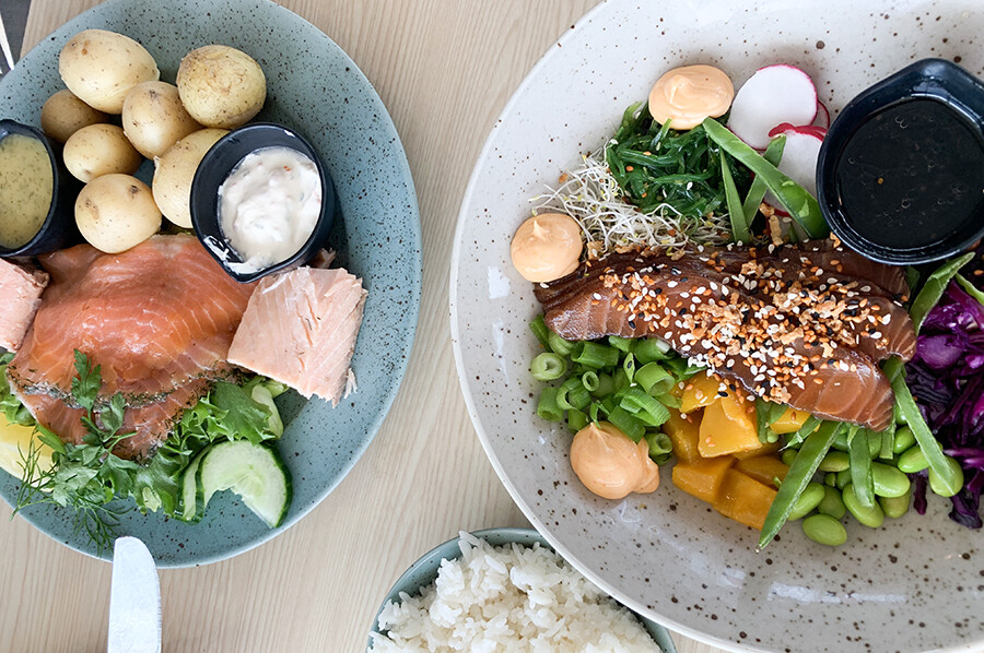 Everything Salmon bij Lilla Laxen en Laxbutiken