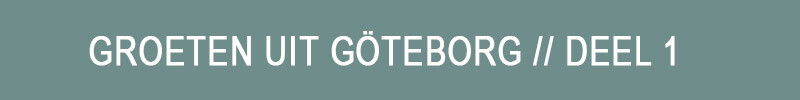 Buttons - groeten uit göteborg deel 1