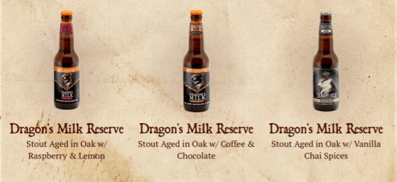 New Holland Dragon's Milk Bourbon Barrel Stout Varities