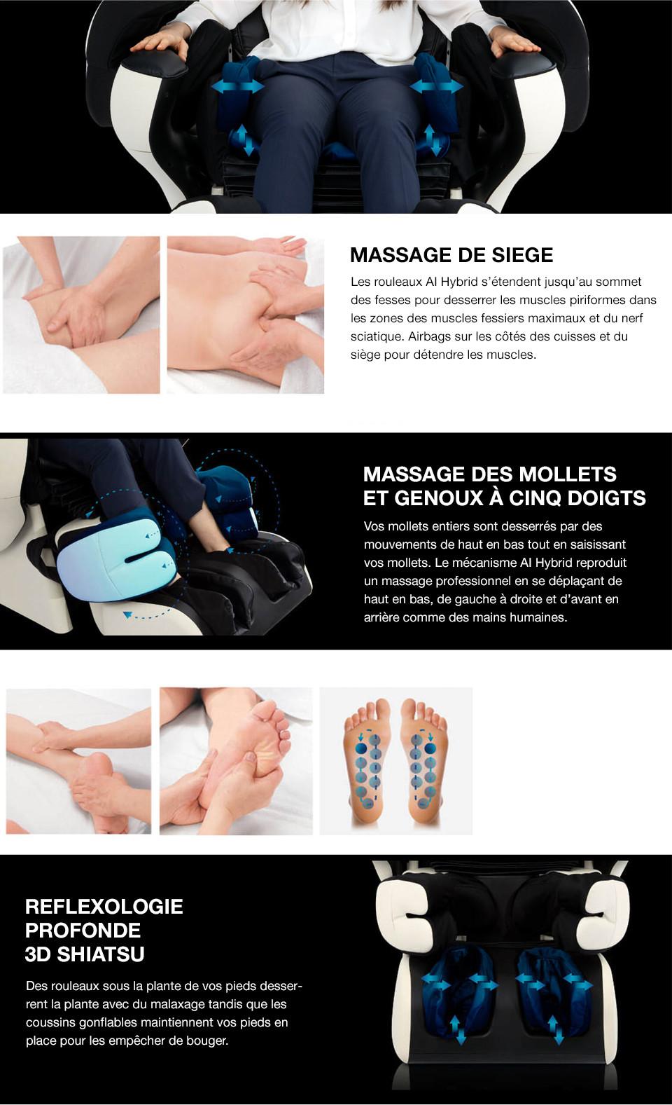 Fauteuil Japonais Pour Faire L'amour : fauteuil, japonais, faire, l'amour, Fauteuil, Massage, Therapina, INADA, Sommeil, Davantage