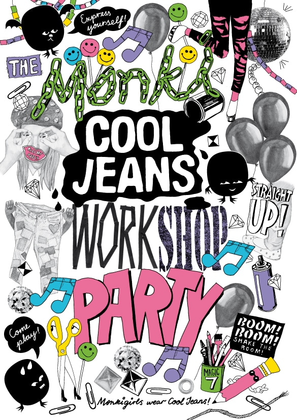 Monki Cool Jeans Vernissage & Party