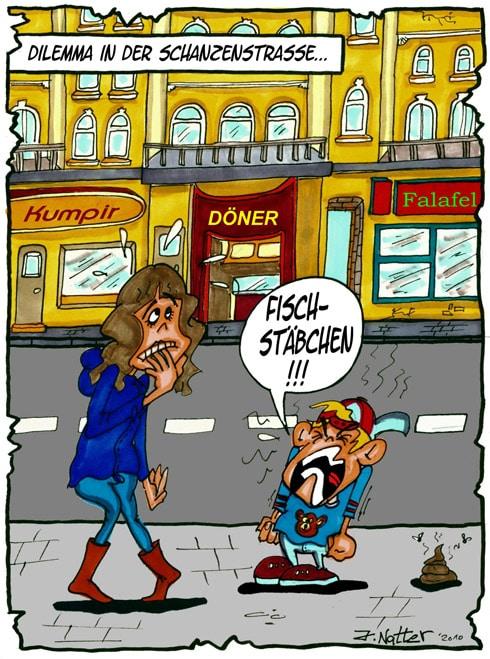 Dilemma in der Schanzenstraße