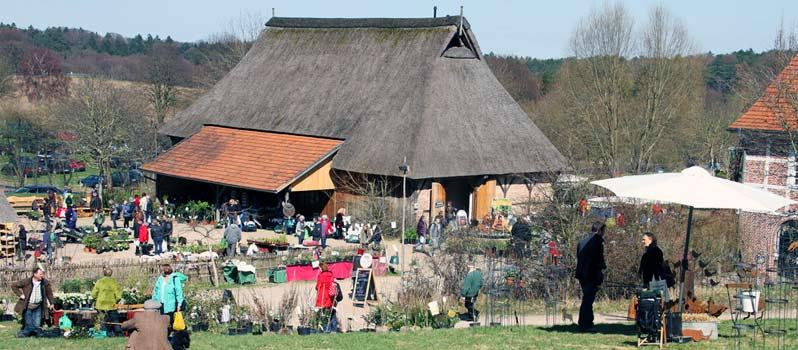 Pflanzenmarkt am Kiekeberg 2014