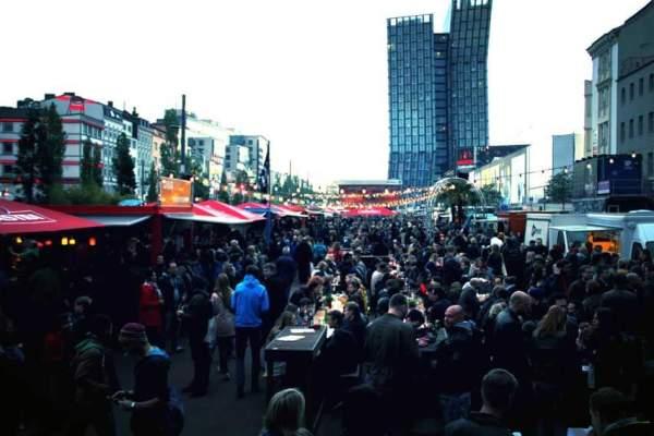 Food Trucks Festival Spielbudenplatz 2015