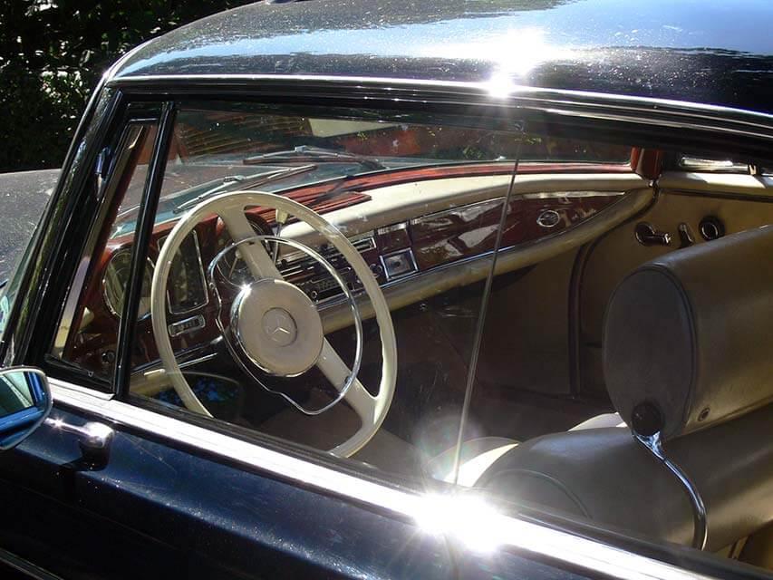 Autoersatzteile für den Benz, Daimler Benz