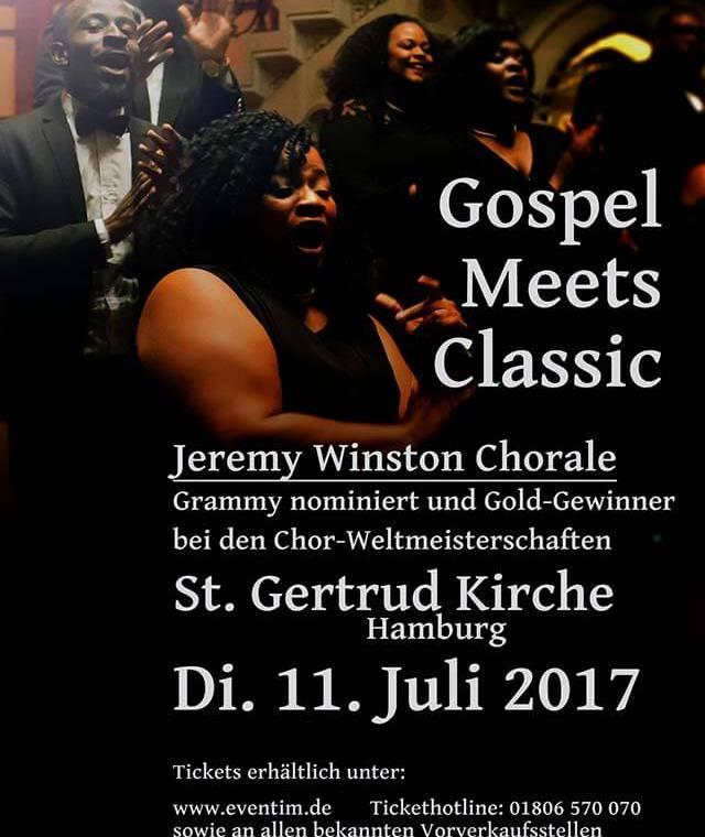 Gospel trifft Klassik in Hamburg