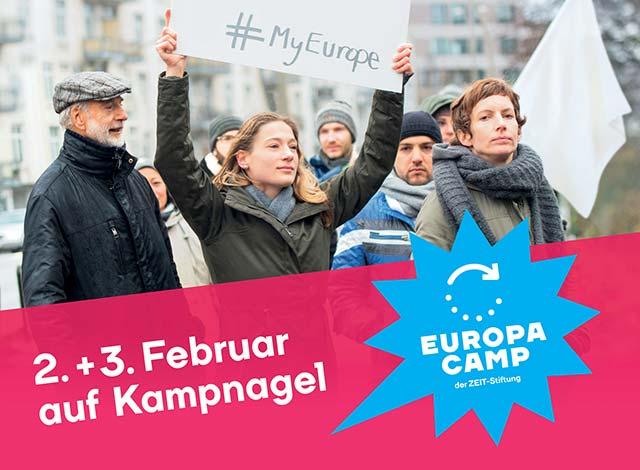 EuropaCamp der ZEIT-Stiftung 2018