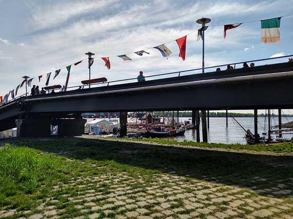 Övelgönner Brücke beim Hafengeburtstag