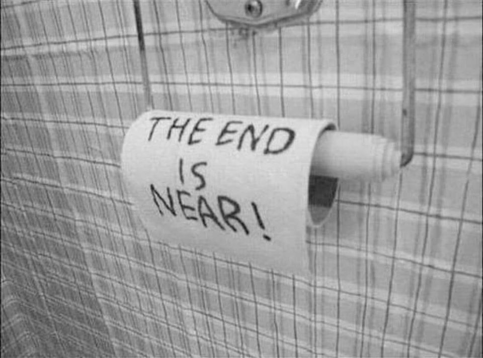 Klopapier: Das Ende ist nah