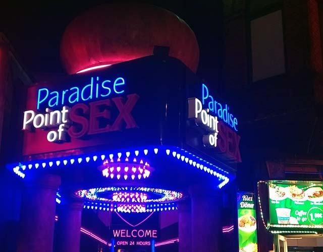 Faszination Reeperbahn mit ihren Sexshops