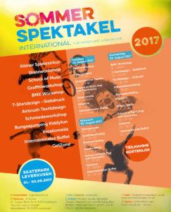 Poster Sommerspektakel #2017