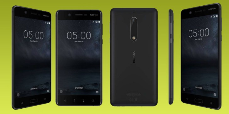 Nokia 5 launched in India price