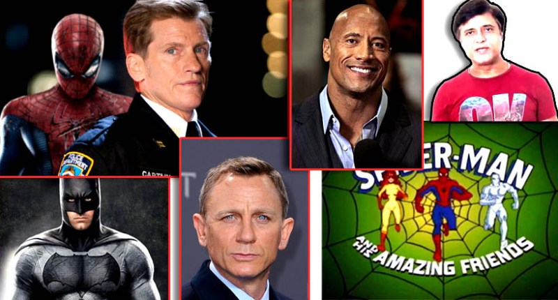 Snipes for Blade, Donal Logue for Ghost Rider, in The Golden Compass for Daniel Craig, Journey 2 The Mysterious Island for Dwayne Johnson also know as The Rock and The Amazing Spider-Man for Denis Leary are only few of the most hit Hollywood characters voiced by him.