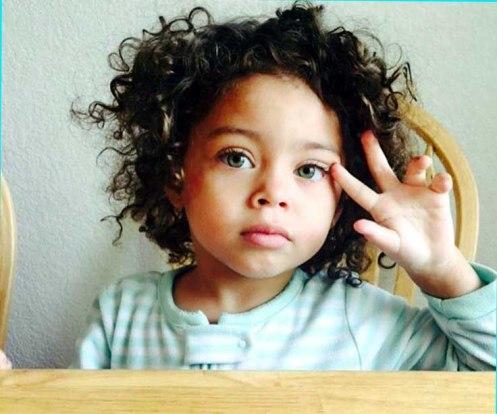 Beautiful African baby girl