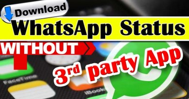 Download WhatsApp Status without any app
