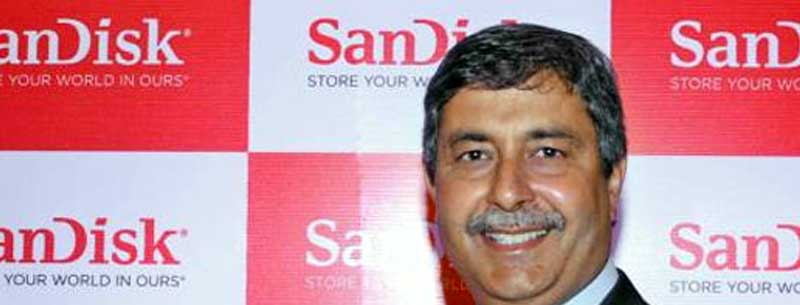 Sanjay Mehrotra, CEO of Sandisk