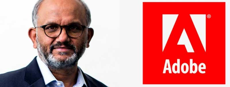 Shantanu Narayen, CEO of Adobe