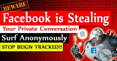 Stop Facebook Tracking and Use Anonymously Protect Yourself From Hackers