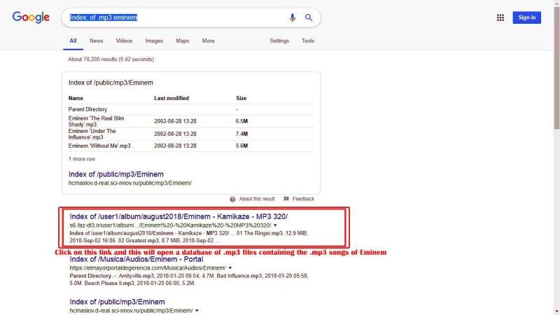 Google Dorks, List of Google Dorks And Injections-Google Hacks