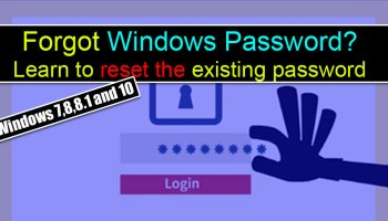 windows 8.1 reset password without disk