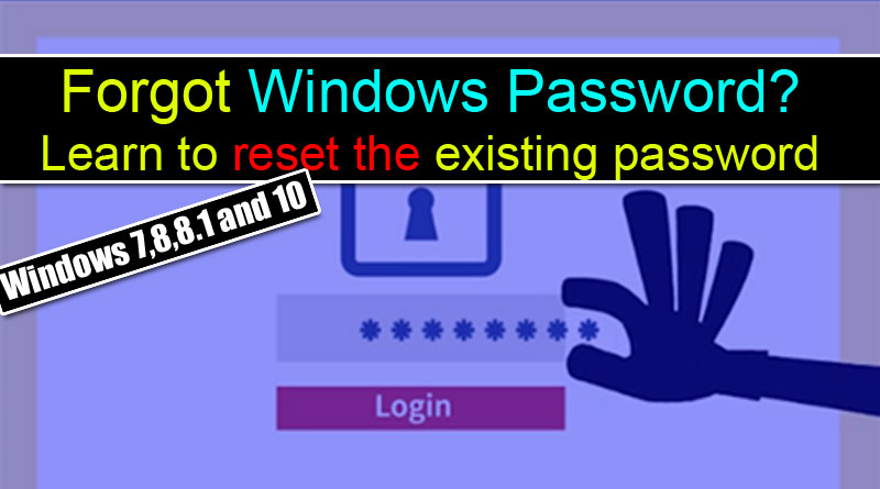 how to hack windows 8 password using command prompt