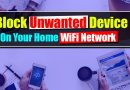 how to block devices connected to WiFi router