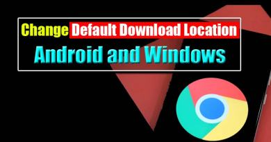 Change Chrome Download Location on Windows and Android