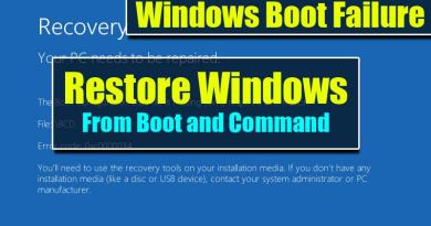 How to Run System Restore from command prompt on Windows