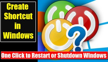 How to Create a Shortcut in Windows For Program and Location