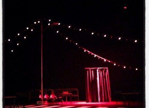 Escenografia de l'espectacle A la ville de... Barcelona