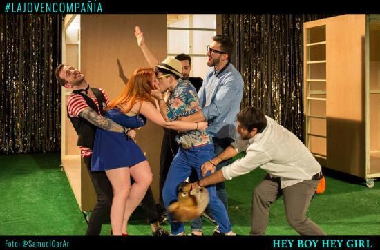 Hey Boy Hey Girl - La joven compañía