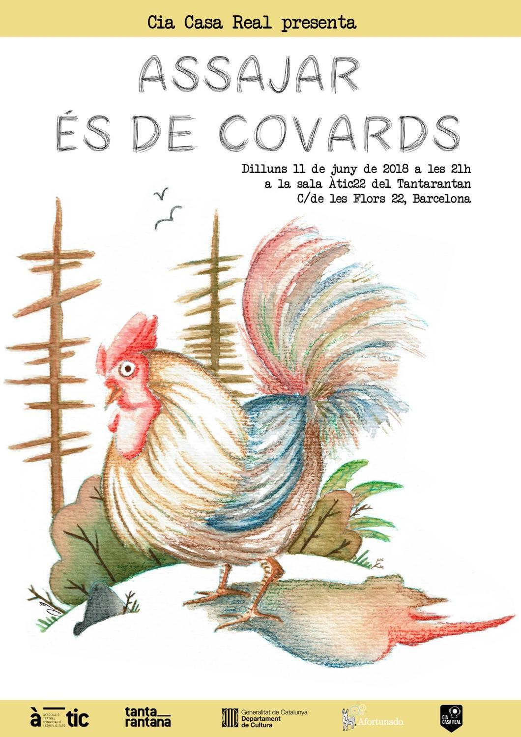 Assajar és de covards #pollastresuat - (c) Rosita Valdivia
