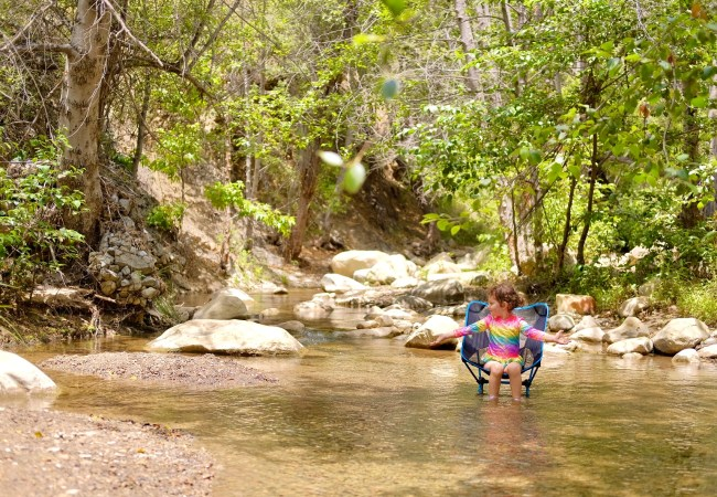 Wheeler Gorge Campground in Ojai … with a Toddler!