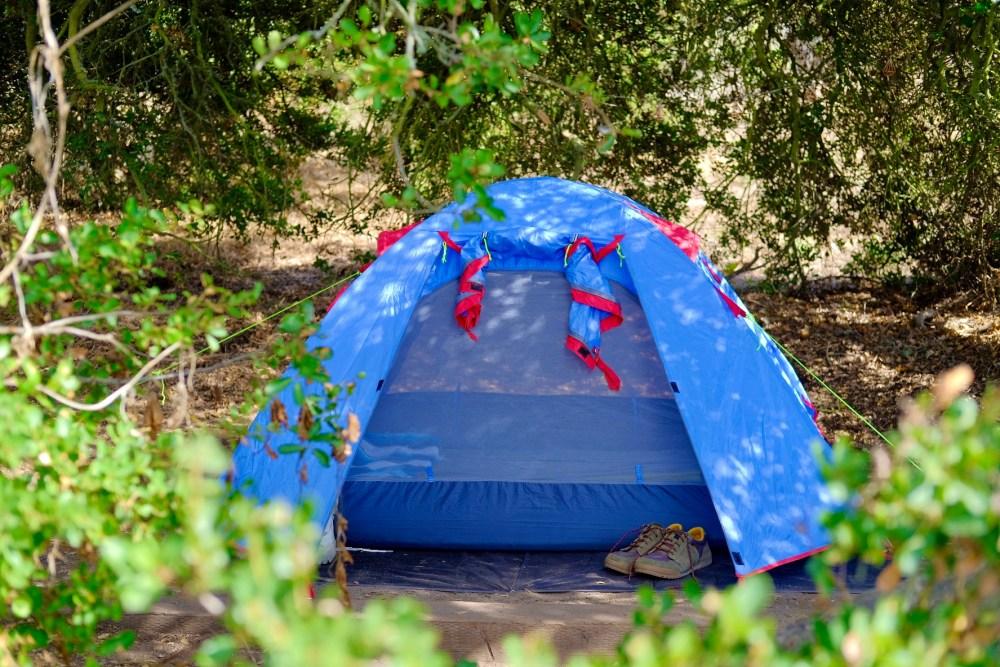 lightweight tent camping