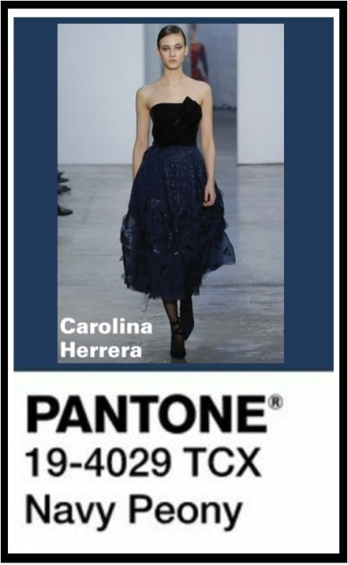 Navy Peony is a hue that gives black a break. Dependable. Anchoring shade. Stable.