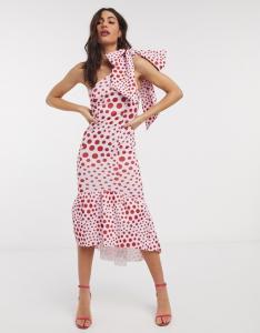 ASOS Design Polka Dot Dress