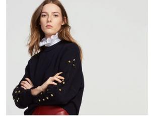 Embellished Sweatshirt; Sandro, $295, @Sandro & Nordstrom