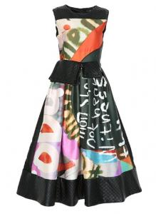 Semi-formal-xunro-printed-dress1