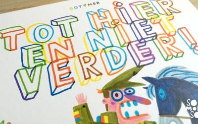 Kinderboek van de week: Tot hier en niet verder!