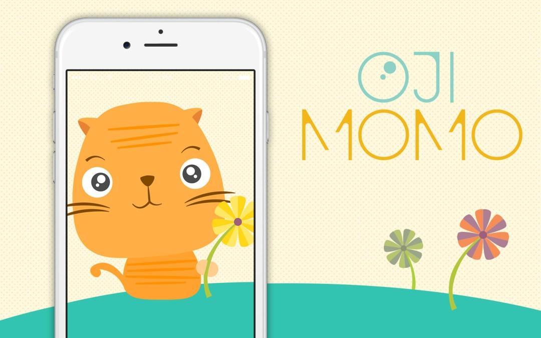 Nieuw: stickers van Ōji Momo in je berichtjes