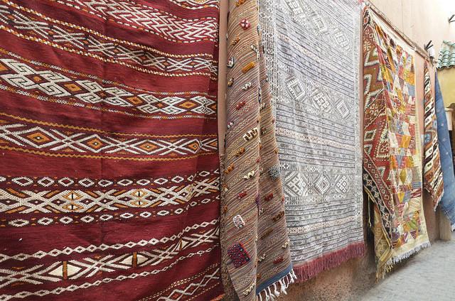 Moroccan Rugs, Photo Credit: Wildbindi, Flickr