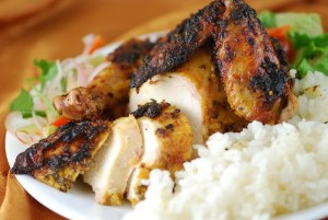 Moroccan Roasted Spicy Chicken