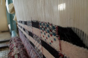 Woven Hanbel rugs, Photo by Mohammed Alshubrumi, 2013 AP Peace Fellow. Morocco, Ain Leuh, Flickr